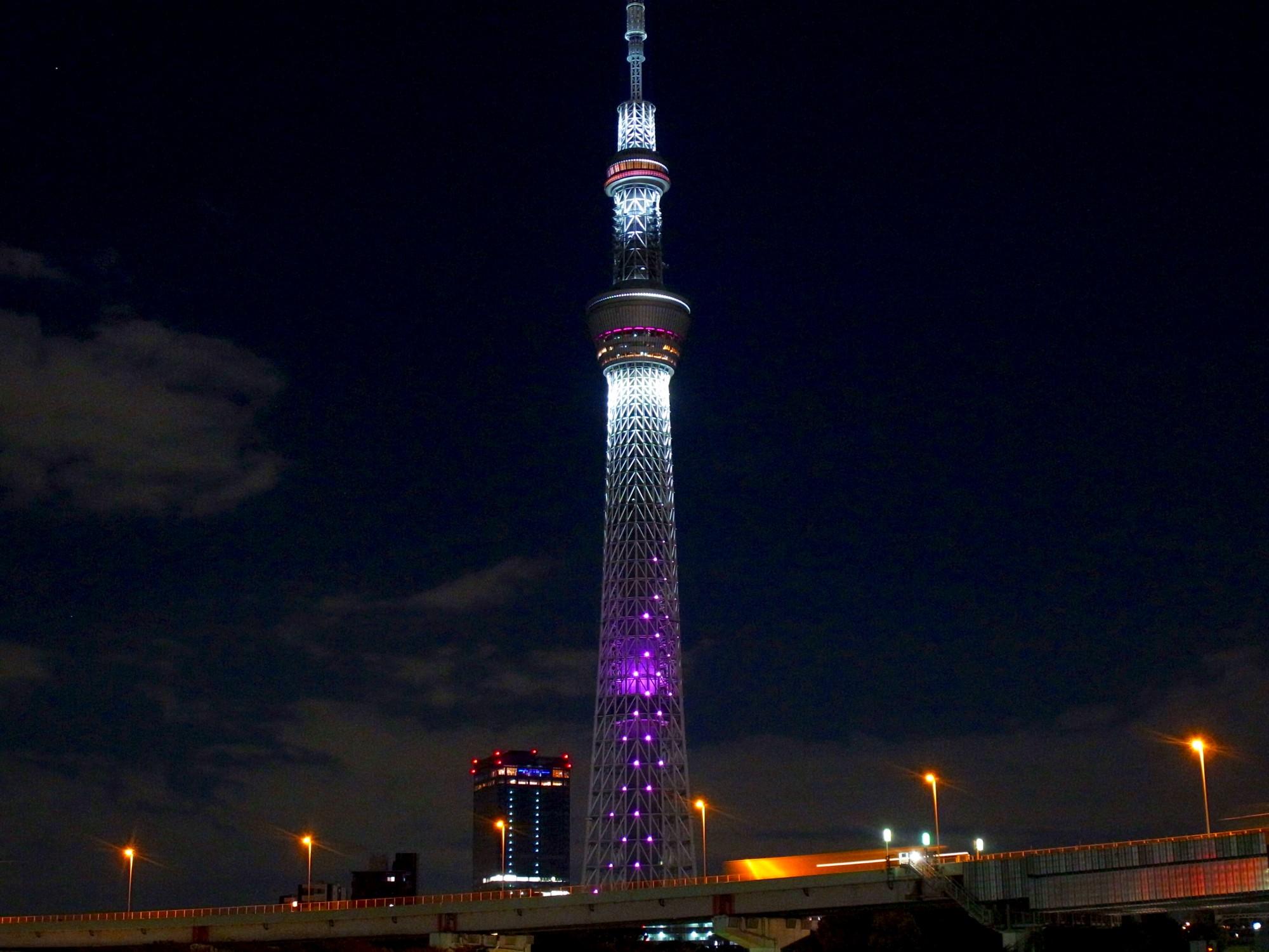 東京スカイツリーのライトアップの種類とオススメの時間帯