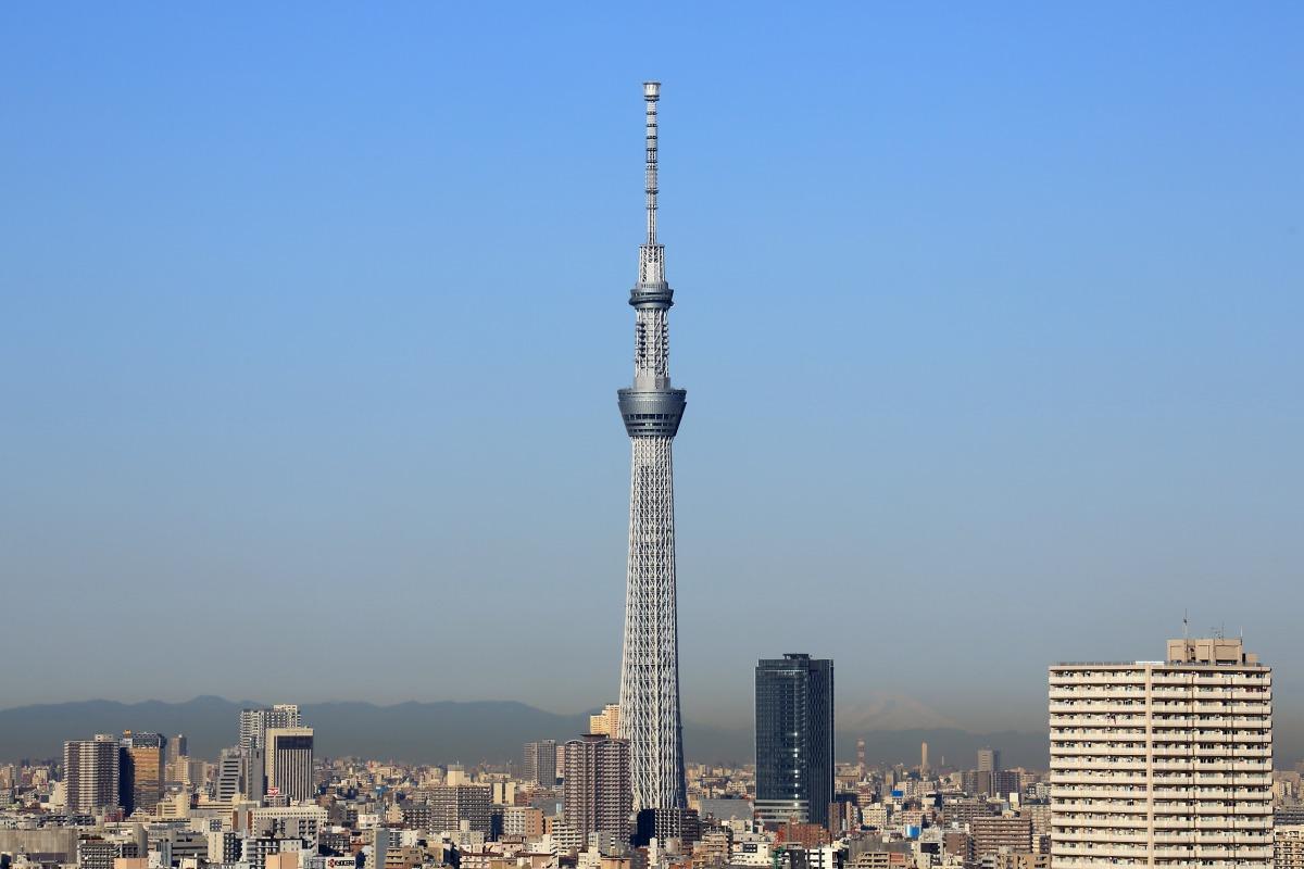世界一の高さを誇る東京スカイツリーの高さの由来と覚え方