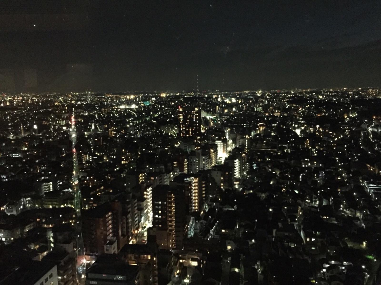 キャロットタワー夜景