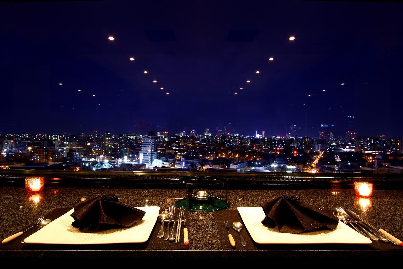 デートや記念日にいかが?札幌で夜景が楽しめるレストラン