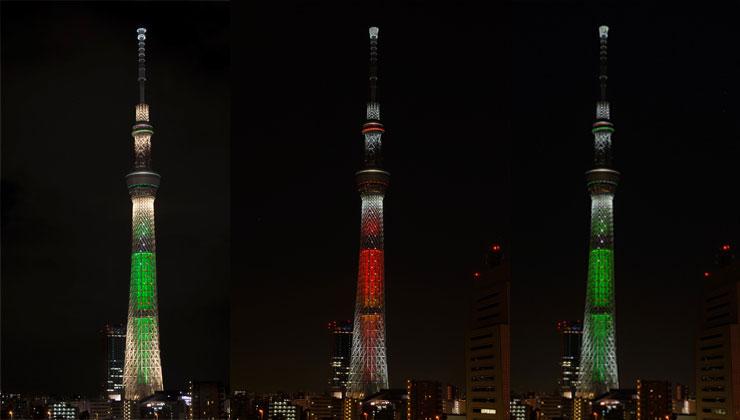 東京スカイツリーのイルミネーションとオススメスケジュール