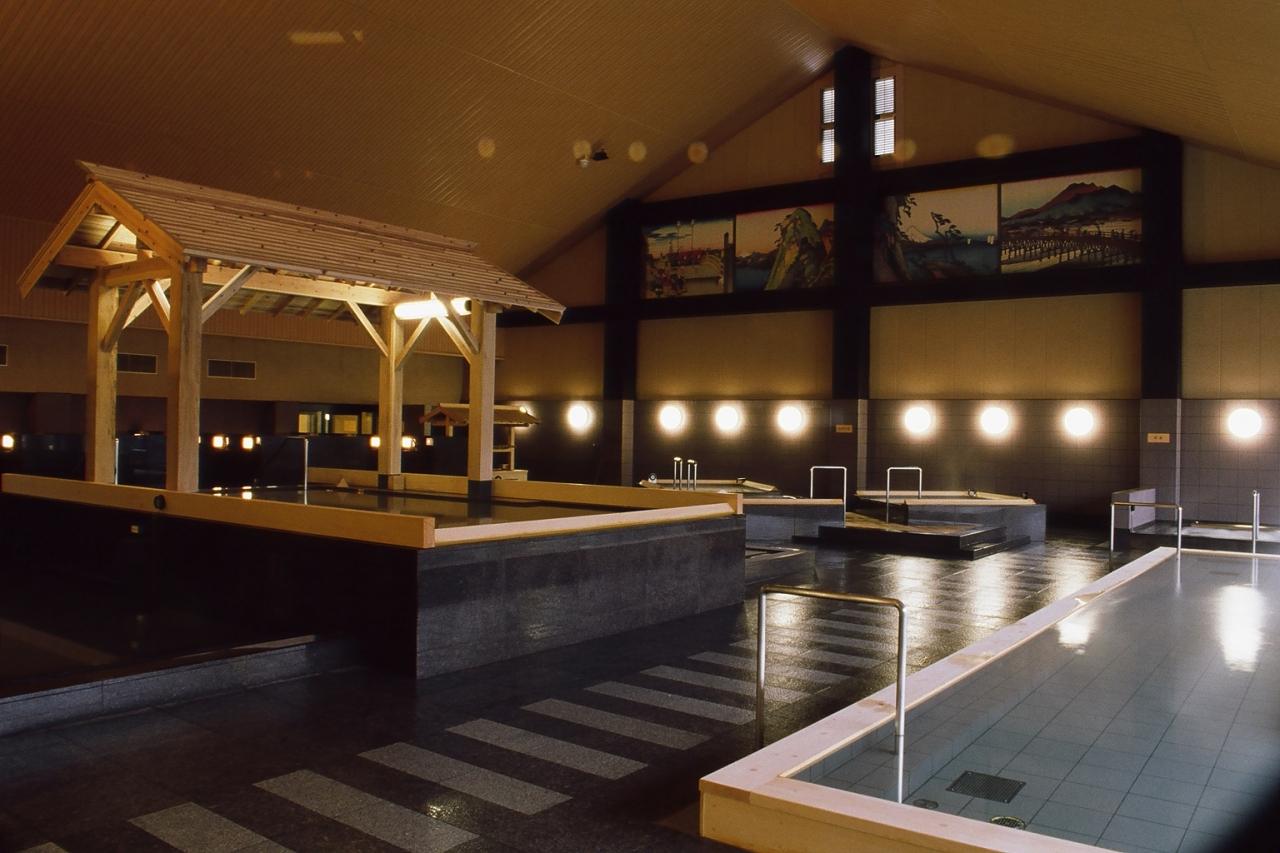 大江戸温泉浴場
